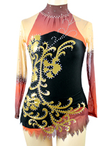 save money on competition black leotard