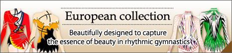 european collection are designer leotards