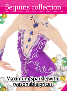 sequins leotards to sparkes on your floor routine