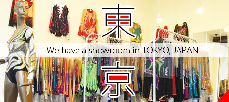 Please come and visit our showroom in Tokyo Japan